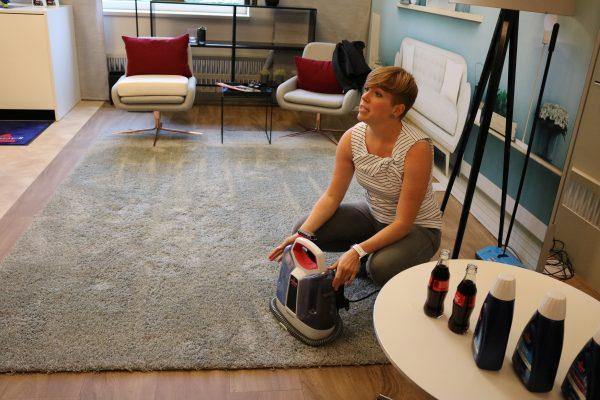 mit bissell in berlin rungekleckert und flecken entfernt haushalt bloggerevent reinigen. Black Bedroom Furniture Sets. Home Design Ideas